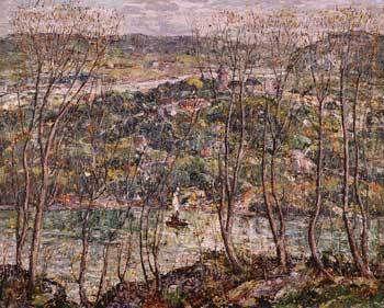 Ernest Lawson. Spring Tapestry