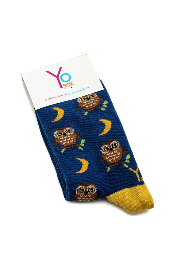 Night Owl Socks - main
