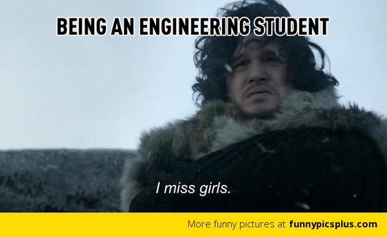 Life Of An Engineering Student Meme