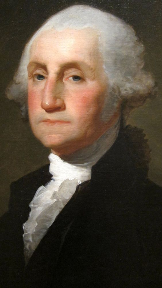 George Washington, the first President under the Constitution as drafted in 1787 [Previous Presidents served under the Articles of Confederation and prior to that under the Articles of Association]: