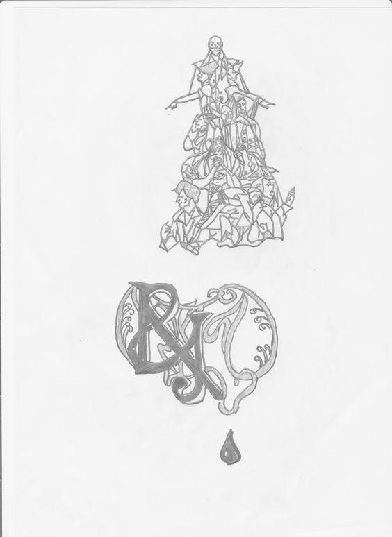 #r&jedit Romeo & Juliette Les Enfants de Vérone The Musical. Second French Cast. My drawing.