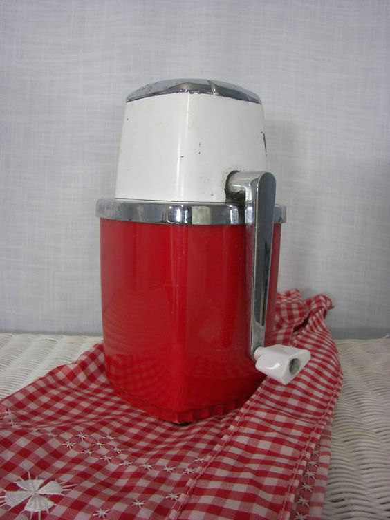 Vintage Swing A Way Ice Crusher