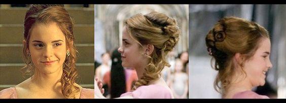 Hermione's Yule Ball hair. Prom?: Wedding Idea, Hermione Yule Ball Hair, Hermione S Yule, Hairstyle Ideas, Hair Wedding, Girl S Hair, Wedding Hairstyles
