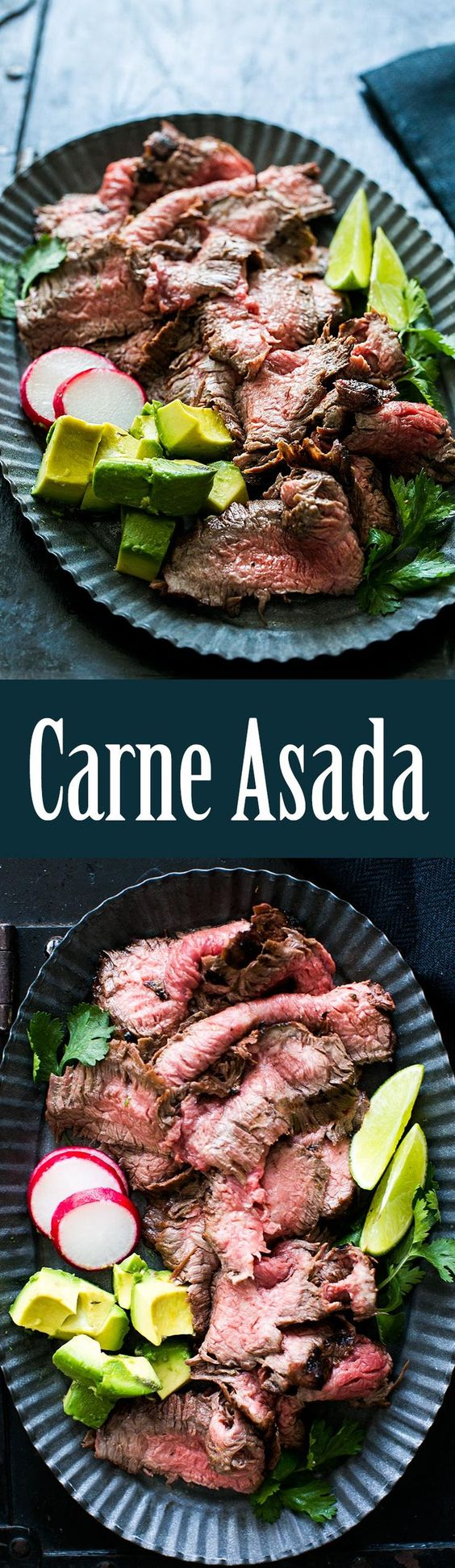 Grilled Carne Asada! Thinly sliced, grilled beef made with marinated ...