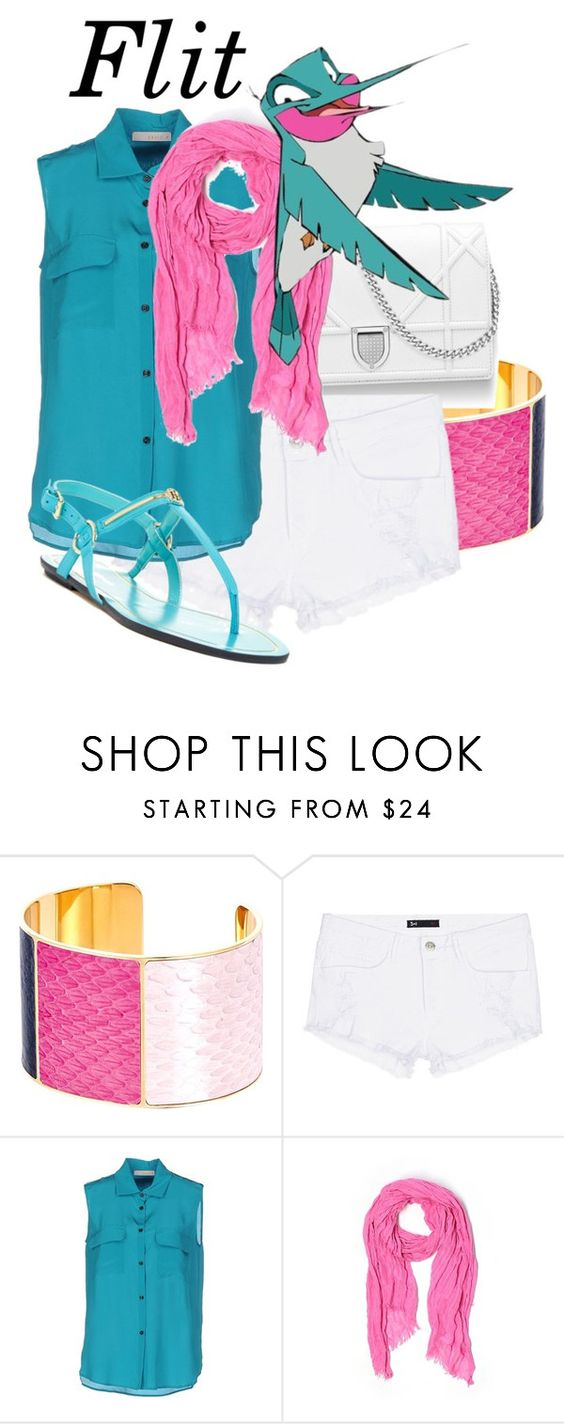 """""""Disney #44 - Flit"""" by xfandomtrashx ❤ liked on Polyvore featuring Aspinal of London, 3x1, Annie P., J.Crew and Tommy Hilfiger"""