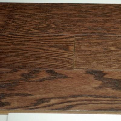 Goodfellow Inc. - Hardwood Flooring Red Oak 3/8 x 5 Wire Brushed - Musket Colour - 714630007 - Home Depot Canada