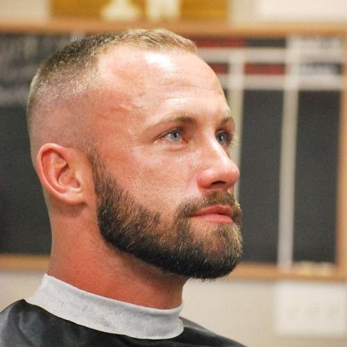 Best Military Haircut Ideas For Men Militaryhaircut Armyhaircut Buzzcut Crewcut Flattop High In 2021 Haircuts For Balding Men Thin Hair Men Short Hair With Beard
