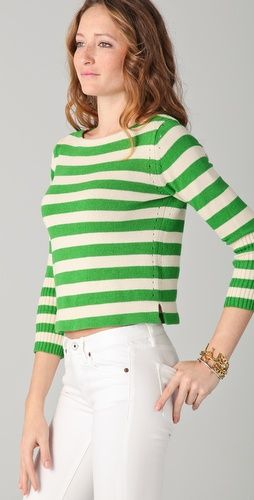 Juicy Couture Striped Pullover