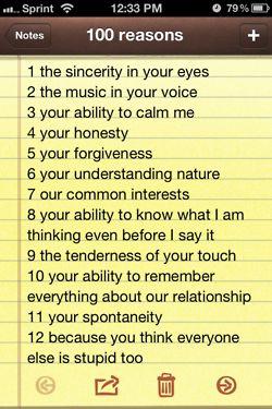 reasons for loving a girl