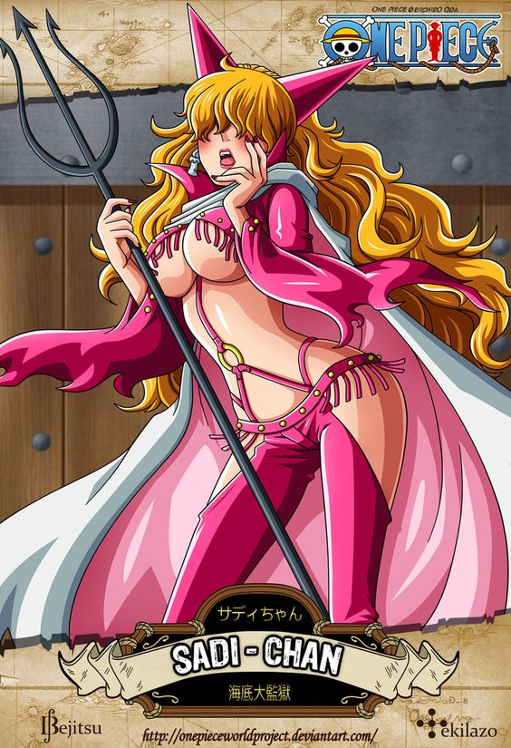 One Piece - Sadi-Chan by OnePieceWorldProject