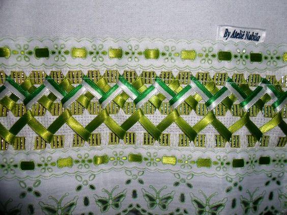 вышивка лентами 9