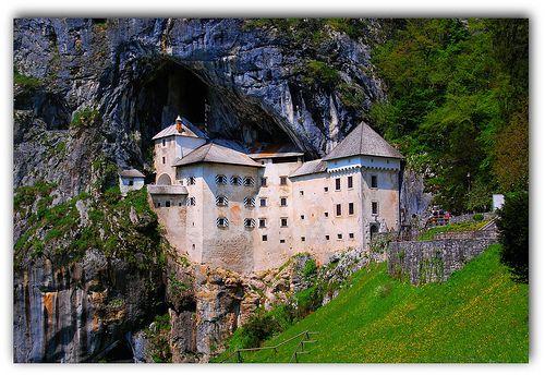 (519)  Predjamski Grad /  Predjama Castle, Slovenia by Franz St., via Flickr