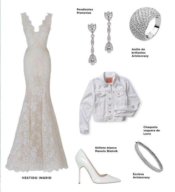 """Consigue el look que ha propuesto la """"it bride"""" de @Pronovias para su boda ---> http://goo.gl/V8KIEq #bodas #novia"""