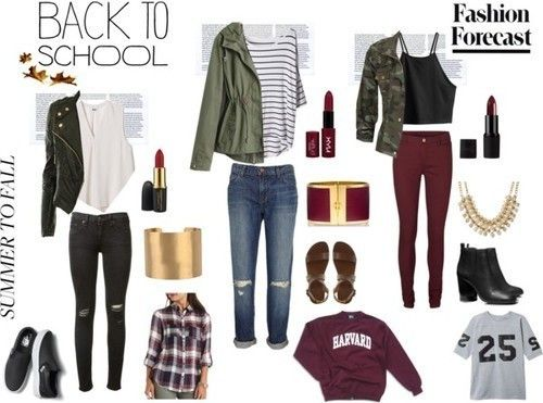 back 2 school fall fashion retour l cole mode et tenues