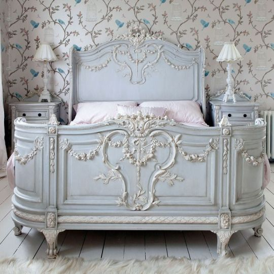Gorgeous Victorian Bed....