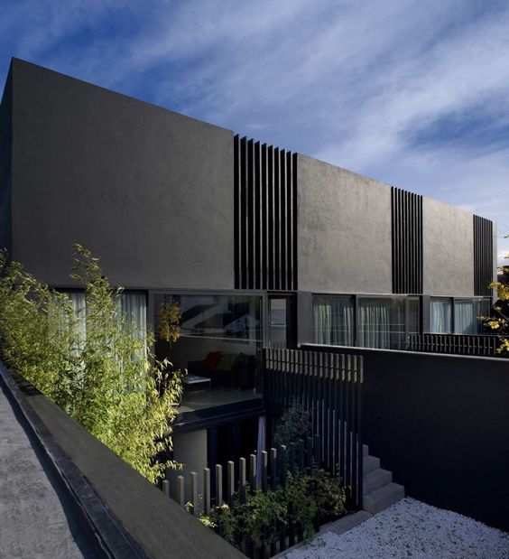 3 Mews Houses in Dublin, Ireland by ODOS architects