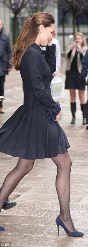 Kate explained to the professors that yesterday on a visit with Prince William to crime prevention charity Only Connect she had been hearing...