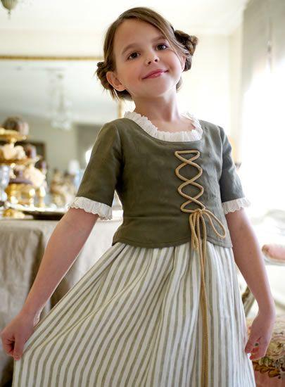 lovely girl's corset dress