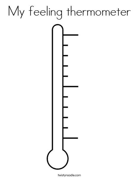 thermometer coloring page - pinterest the world s catalog of ideas