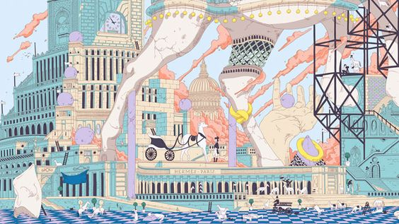 HIPPOPOLIS by Ugo Gattoni