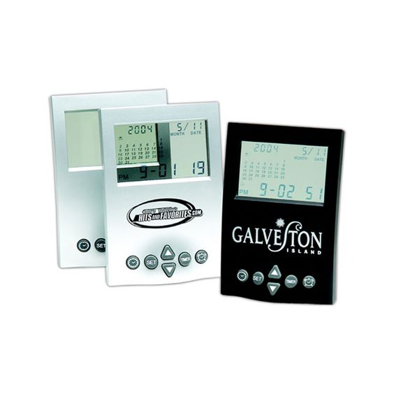 CALENDAR ALARM CLOCK www.graphicservicespromotional.com #promotionalproducts