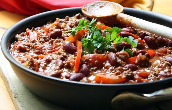 SOUTH OF THE BORDER: CHILI CON CARNE