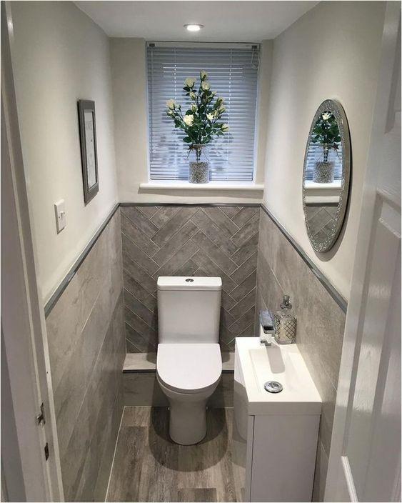30+ elegant small bathroom decorating ideas 4