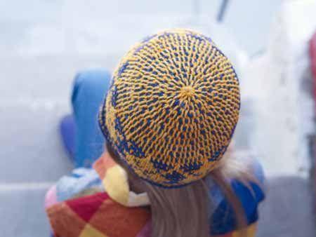 Tunisian Crochet In The Round Hat Tunisch Haken