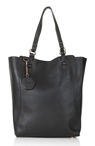 Topshop 'Hex' Faux Leather Tote available at #Nordstrom