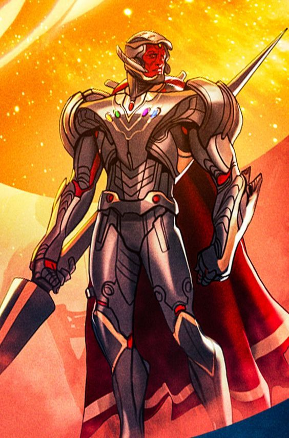 Ultron In Vision's Body