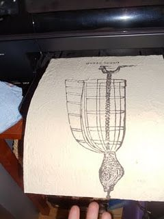You can print directly onto fabric