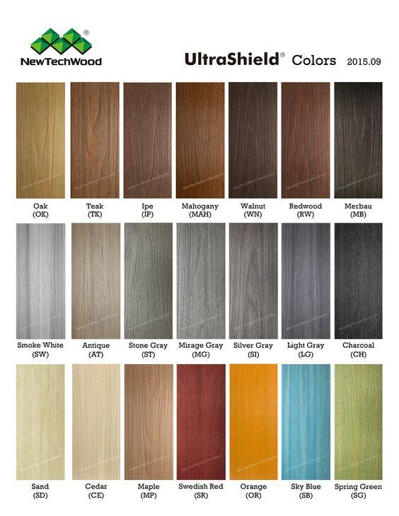 Terrasse composite plancher ext rieur newtechwood for Plancher composite exterieur