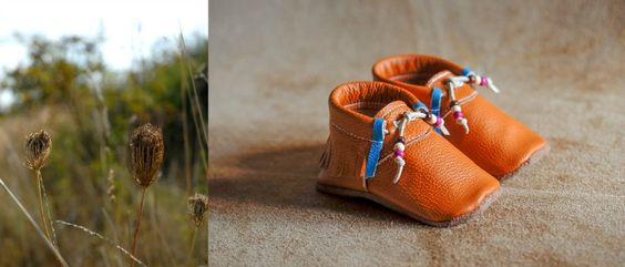 First Baby Shoes - Moccasin Adventure - Petit & Small