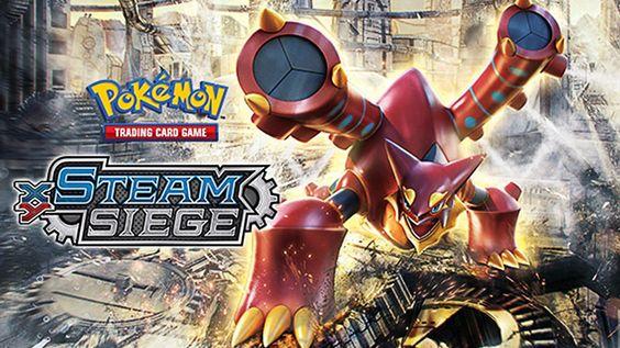 Pokémon Volcanion y Magearna hacen su debut en el JCC Asedio de Vapor