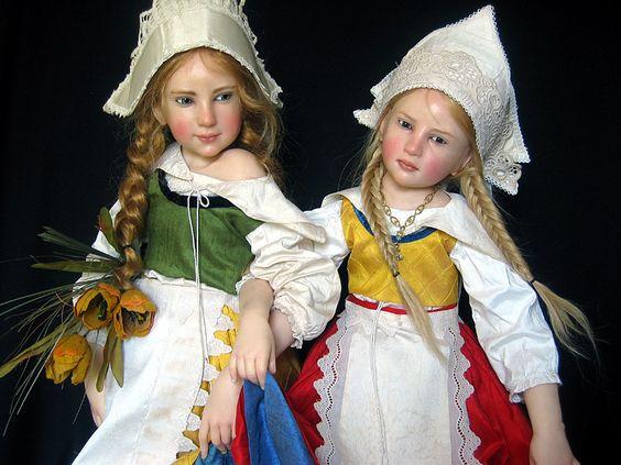 Dutch art dolls