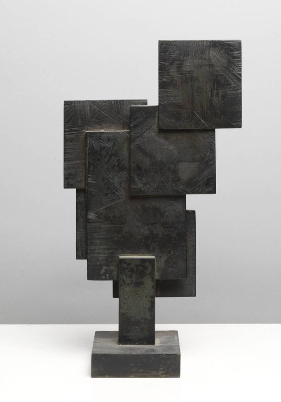 'Square Forms' (1962) by Barbara Hepworth. I chose this sculpture because I like the overlapping squares and the geometric nature of the piece, It is simple yet interesting.