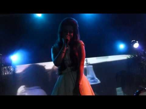 Lana Del Rey - Summertime Sadness LIVE HD (2012) Los Angeles El Rey Theatre