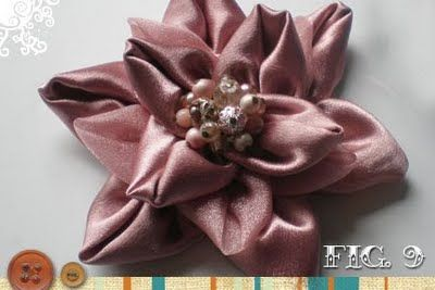 Flower Brooch Tutorial