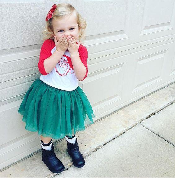 Adorable Kids Holiday Look #kidsfashion