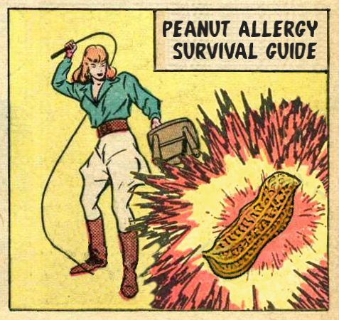 Diagnosed with a peanut allergy? Don't panic! When Peanuts Attack is here to help with our Peanut Allergy Survival Guide.