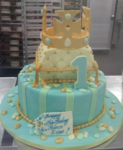 A Birthday Cake Fit For A Prince Happy Birthday