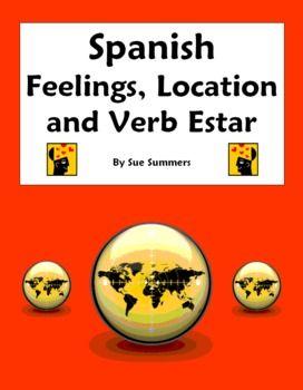 spanish grammar spanish and feelings on pinterest. Black Bedroom Furniture Sets. Home Design Ideas