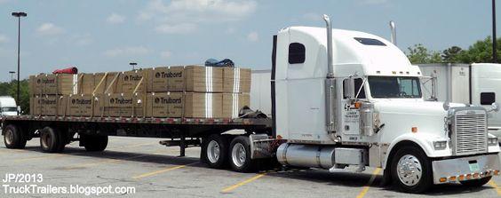 TRUCK TRAILER Trucking Express Kenworth Volvo Transport