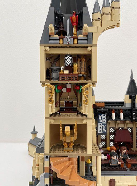 Lego Harry Potter Great Hall Mod Lego Hogwarts Lego Harry Potter Moc Lego Harry Potter