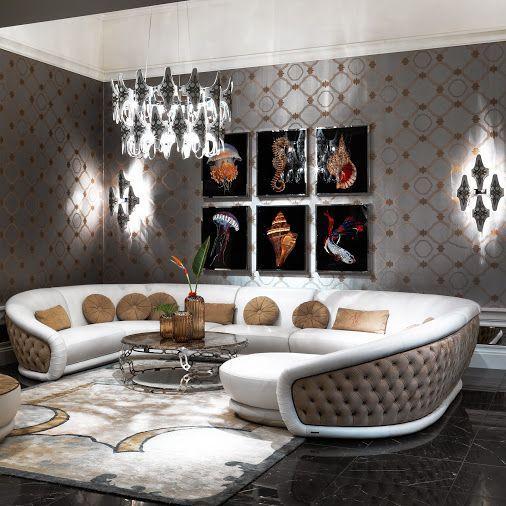 Luxury Living Room Furniture Efistu, Luxury Living Room Set