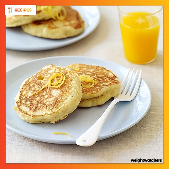 Fluffiest pancakes, Weight watcher recipes and Pancakes on Pinterest