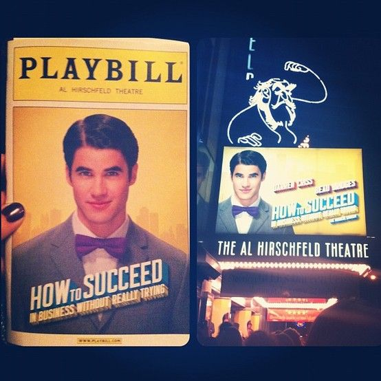 Broadway's How to Succeed in Business Without Really Trying, starring Darren Criss!