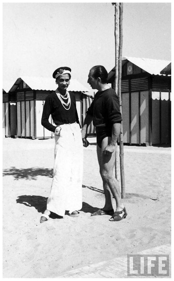 Fashion designer Coco Chanel GjonMil