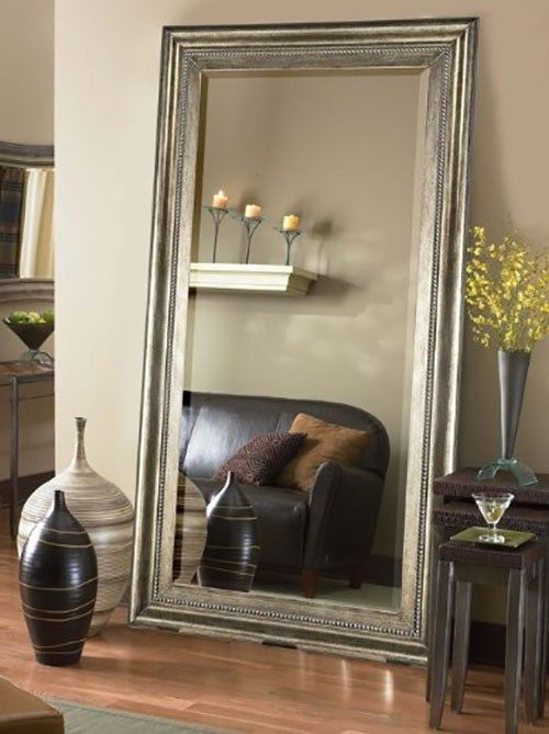 Not Just As An Ornamental Aspect Of Room That Has An Aesthetic Component The Mirror Shou Floor Mirror Living Room Mirror Decor Living Room Living Room Mirrors #oversized #mirror #living #room