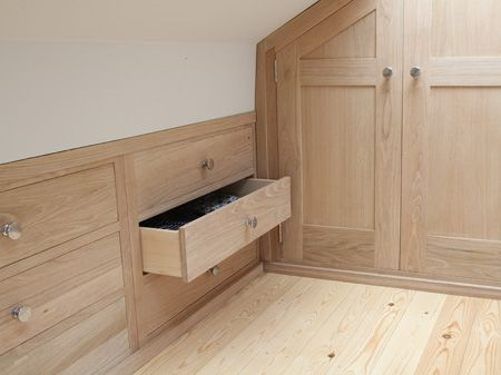Karl Hutton Bespoke Joinery Ltd Loft Conversions Storage - Fitted loft bedroom furniture